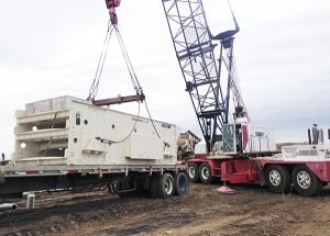 Heavy rigging, 100 Ton Link-Belt